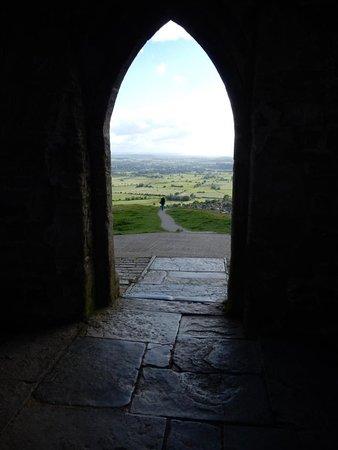 Glastonbury Tor: Inside the tower