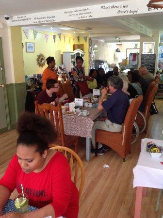 Aylesford, UK: Community breakfast