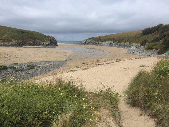 Crantock, UK: Porth Joke beach