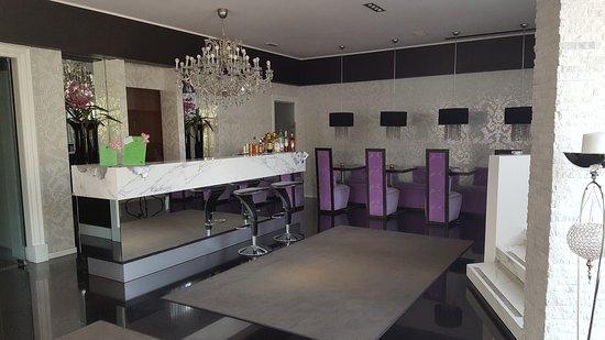 Cazzago di Pianiga, Italie : lobby (ontbijt)