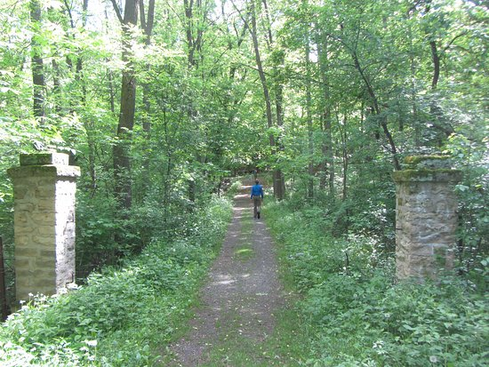 Saint Croix Falls, WI: One of the more developed hiking trails
