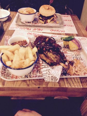 Alvaston, UK: Ribs