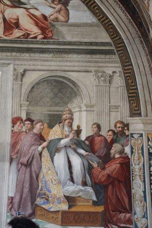 chambre de raphael picture of vatican museums vatican city tripadvisor. Black Bedroom Furniture Sets. Home Design Ideas