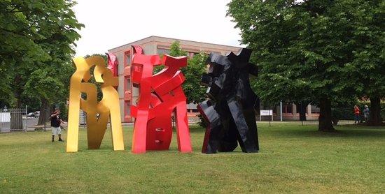 Kunstwerk Carlshutte: Outdoor sculptures at NordArt