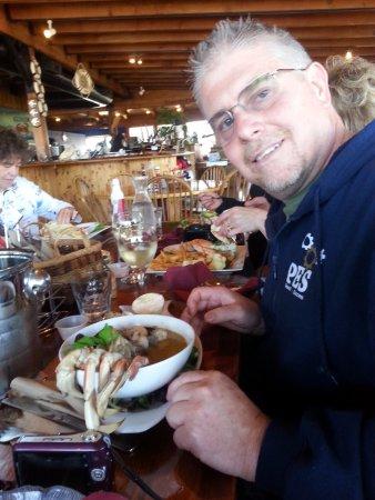 ICM Restaurant: Fresh Dungeness crab was the best!