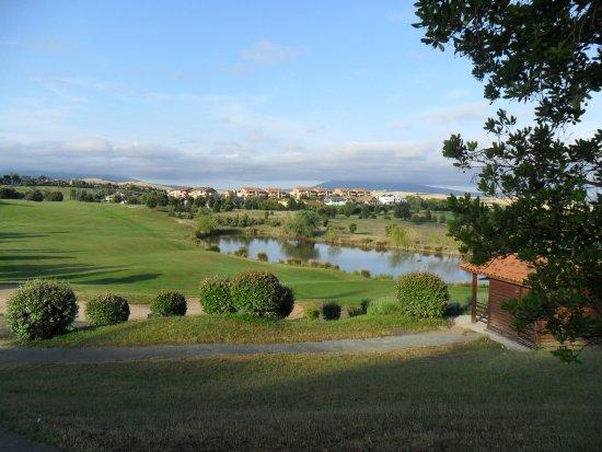 Club de Golf Castillo de Gorraiz : Vue du départ du 1