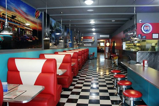 One of the best 1950's style diners we've seen! - Picture of