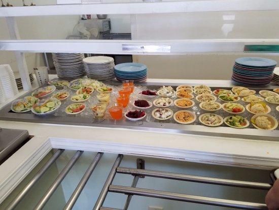 Milledgeville, GA: Fresh salads