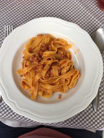 Giustino, Italia: tagliolini