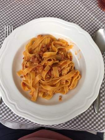Giustino, Itália: tagliolini