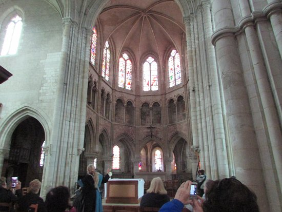 Les Andelys, France: vitraux