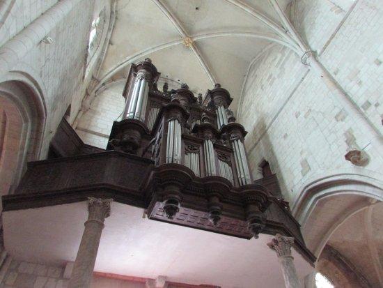 Les Andelys, France: orgue