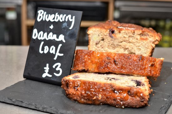 Surbiton, UK: Blueberry and Banana Loaf