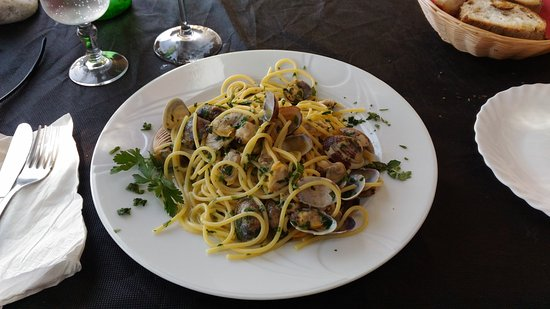 Ardea, İtalya: Spaghi e vongole