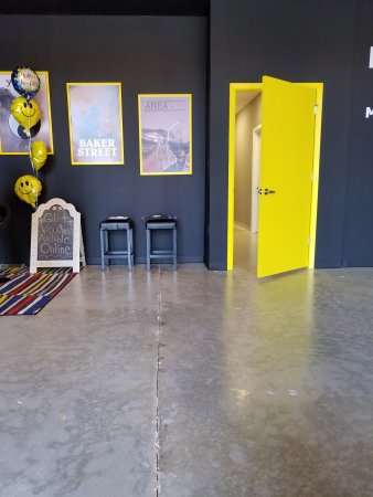 Escape Room Games lobby/store front
