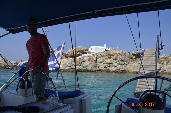 Captain Panos Sailing: The Captain - Panos himself