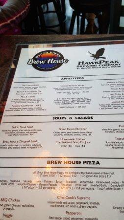 Grand Haven, MI: Menu