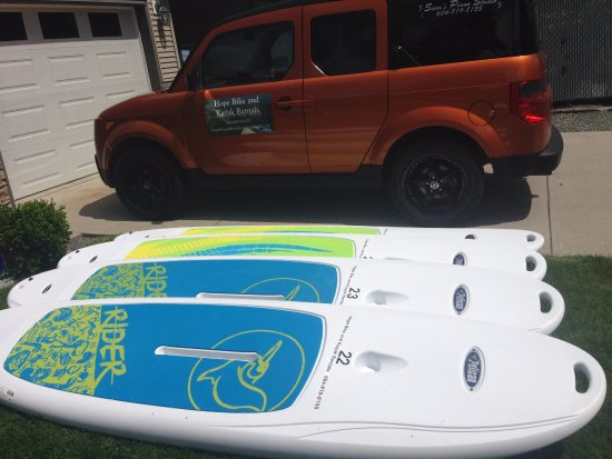 Hope, Kanada: SUP Boards (Stand Up Paddle Boards) For Rent! Try out Kawkawa Lake or Lake Of The Woods