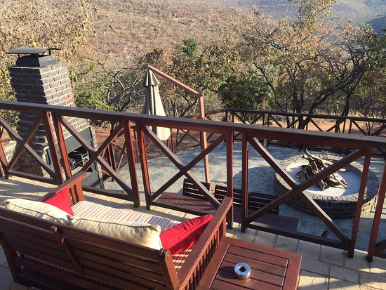 Vaalwater, Afrique du Sud : Seating area