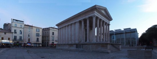 La Maison Carree And Carre D Art Musee D Art Contemporain On The