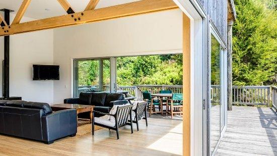 Marahau, Nova Zelândia: communal rooms