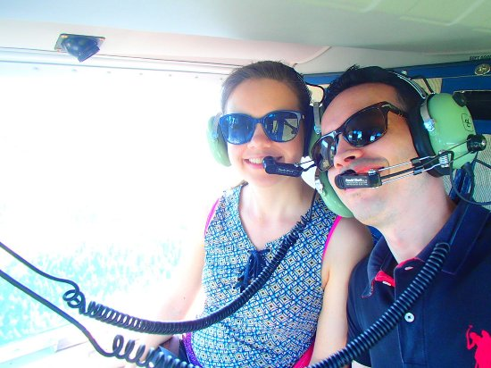 West Kelowna, Kanada: Helicopter to Christy Falls