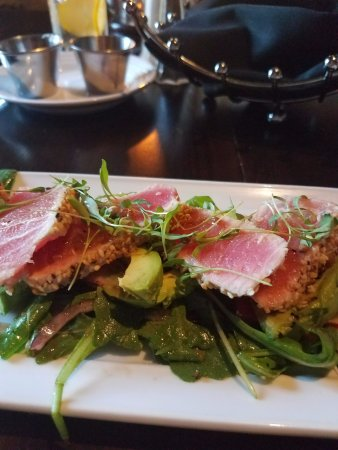Granbury, TX: Seared Ahi Tuna Salad