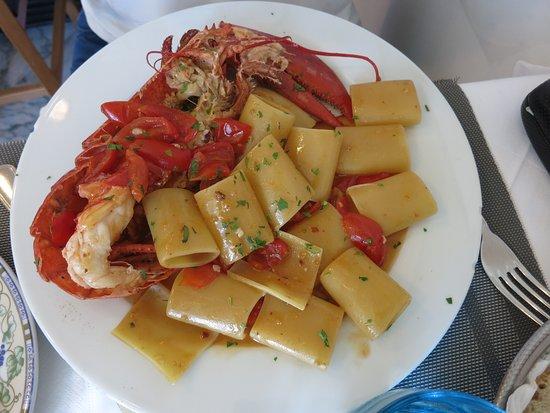 Longano da Tarantino: Lobster with Pasta