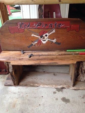 Eastpoint, FL: Red Pirate