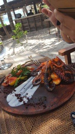 BeTulum Restaurant and Lounge : pulpo