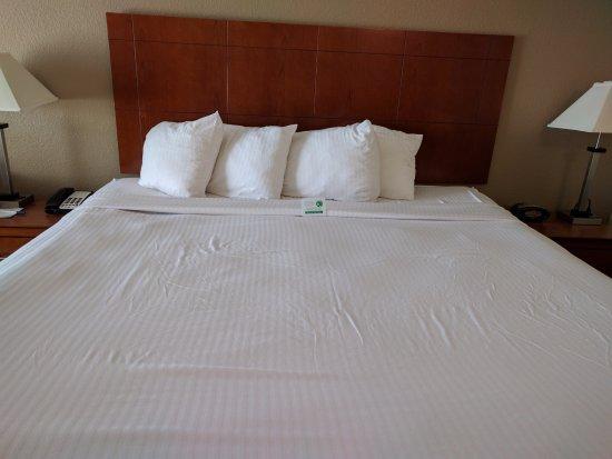 Best Western Williamsport Inn: Comfortable Bed