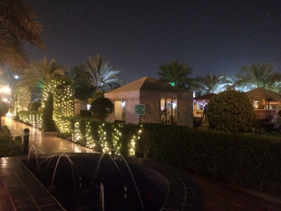 Movenpick Hotel Kuwait the garden and pool are hat air-conditioned tents & the garden and pool are hat air-conditioned tents - Picture of ...