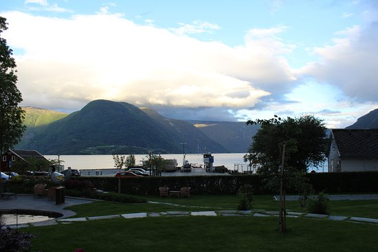 Solvorn, Norge: View from our patio