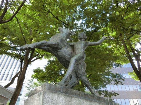 Bokudo Statue