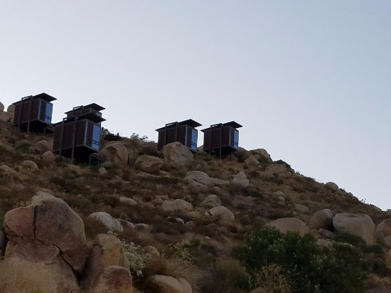 Encuentro Guadalupe: Encuentro Guadaloupe hillside loft accommodations.