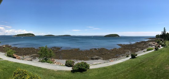 Bar Harbor Inn: View from our deck