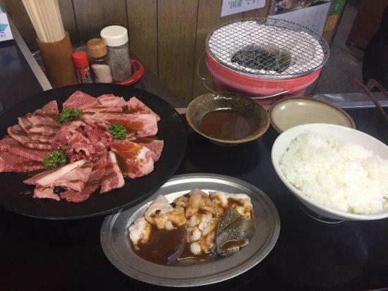 Matsusaka, Japonya: 松阪肉セット