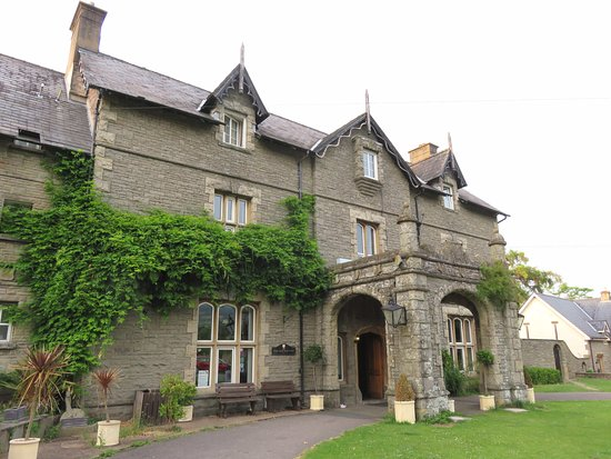 Llangattock, UK: The Old Rectory Country Hotel - Wales (23/jun/17).