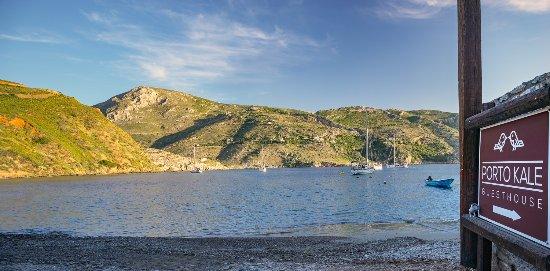 Porto Kagio, Greece: Our entrance