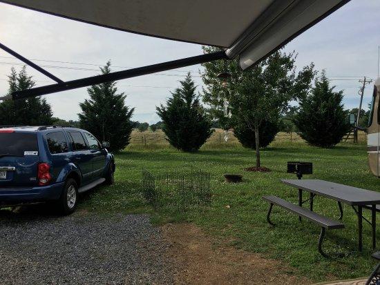 Moneta, VA: View from the campsite