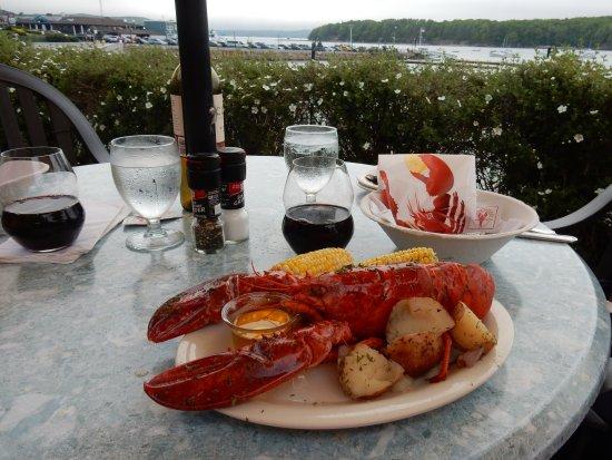 Reading Room Restaurant : Lobster Dinner
