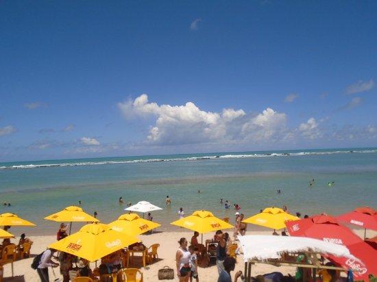 Barra de Sao Miguel, AL: Praia Barra de São Miguel