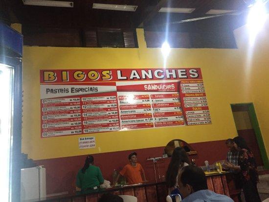 Macaubas: Bigos Lanches