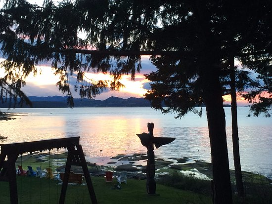 Gabriola Island, Canada: View from one of our accommodation units.