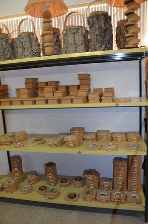 Azaruja, Portugal: Cork products