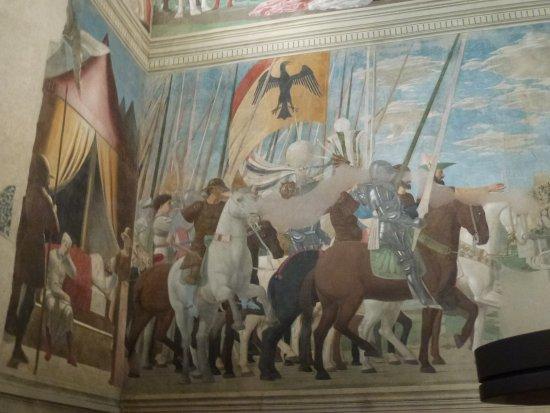 อาเรสโซ, อิตาลี: Victory of Constantine over Maxentius