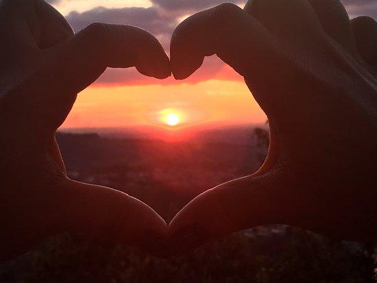Serra Negra, SP: Lindo Pôr- do -sol
