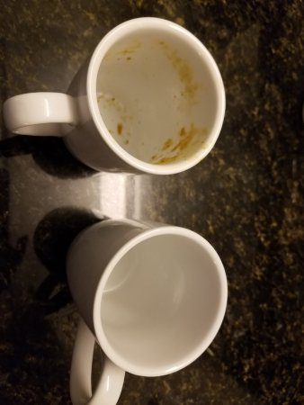 Irmo, SC: This is how we found the cups to make coffee in...... ewwwww