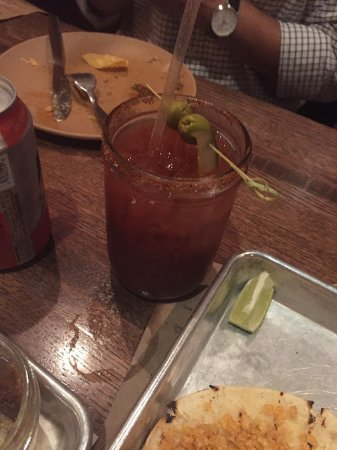 Valparaiso, IN: bloody mary and her sidekick, beer chaser. I didnt have the beer