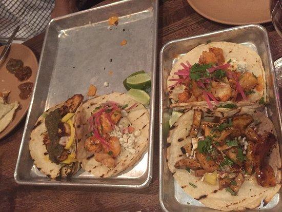 Valparaiso, IN: 4 of 5 tacos ordered